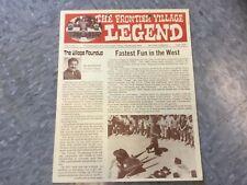 Frontier Village Amusement Park San Jose Legend newsletter April 1976