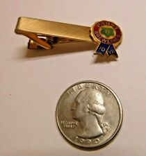 Pabst Brewing Company 10 Year Service Award Metal Tie Clasp Balfour