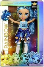 Rainbow High Cheer Doll Blue Cheerleader - Skyler Bradshaw
