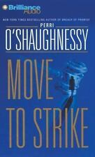 MOVE TO STRIKE by Perri O'Shaughnessy (AUDIO CD, Abridged) NEW
