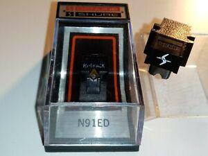 Cellule Shure M91EDM, 1 diamant Shure N91ED.