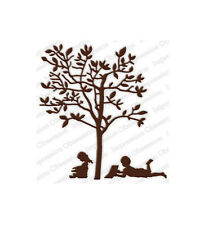 READING TREE DIE-Impression Obsession Stamps-Sizzix/Cuttlebug-Silhouette