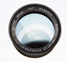 Bausch-Lomb Baltar 152mm f2.7 Nikon SLR mount  #MA4070R