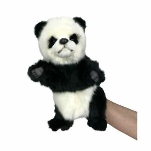 "Hansa Panda Hand Puppet soft plush toy 12""/30cm Panda Puppet"