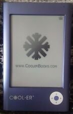 Cool-er eBook Reader E-Reader CoolerBooks 1GB NEW bundle Like Kindle
