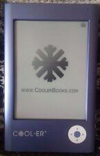 Cool-er eBook Reader E-Reader CoolerBooks 1GB NEW bundle Like Kindle