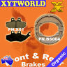 FRONT REAR Brake Pads Shoes PIAGGIO Hexagon GT 250 1998 1999