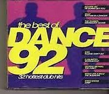 161 THE BEST OF DANCE 92 - 2 X UNMIXED CDS 90S OLDSKOOL DANCE HOUSE RAVE  CDJ DJ