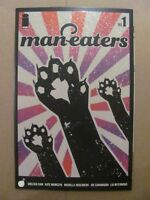 Maneasters #1 Image 2018 Series Chelsea Cain Glitter Variant 9.6 Near Mint+