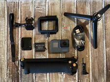 GoPro Hero5 Black Camera 4k GPS CHDHX-501 + 128GB Card + 3-Way Arm + Tripod