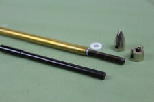 """1/4"""" 6.35mm flex shaft cable drive dog prop nut and brass tube for rc boat"""