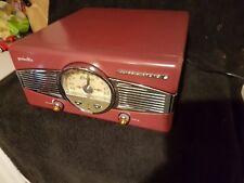 Retro Turntable Vinyl Record Player Vintage Radio Audio HiFi Speakers Black