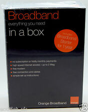Haut débit orange dans une boîte routeur wifi nouvelles boîte