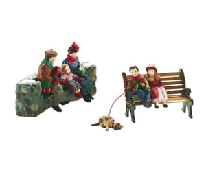 DEPT 56 Christmas At The Park Christmas in the City (1993)