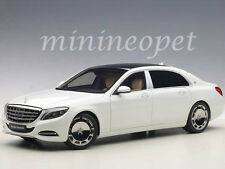 AUTOart 76291 MERCEDES BENZ MAYBACH S-KLASSE S 600 1/18 MODEL CAR WHITE