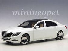 AUTOart 76291 MERCEDES BENZ MAYBACH S-KLASSE S 600 1/18 MODEL CAR WHITE