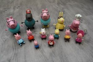 PEPPA PIG TOY FIGURE PLAYSET BUNDLE