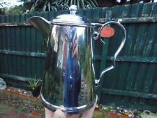 ART DECO AUSTRALIAN SILVER PLATE COFFEE OR HOT WATER POT DUNKLINGS OF MELBOURNE