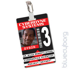 Cyberdyne Systems - Miles Dyson - Novelty ID Inspired By Terminator