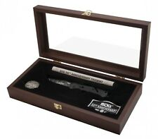 SOG Trident 30th Anniversary Limited w/ Wood Display Box, Coin, Patch, & Cert.