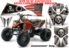 AMR Racing DECORO GRAPHIC KIT ATV KTM 450 505 525 SX XC Buccaneer Bay B