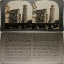 Keystone Stereoview of The Leaning Tower of Pisa in ITALY From 600/1200 Card Set