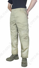 Combat BDU TROUSERS - KHAKI - All Sizes US Army Military Cargo Pants