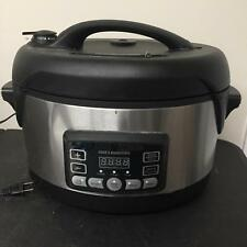 Cooks Essentials Model 99725 K29862 Pressure Electric Programmable Cooker