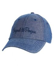 Penguin by Munsingwear Mens Blue Chambray Baseball Cap Hat NWT $35 One Size