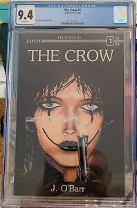 THE CROW #1 CGC 9.4 1st Print White Pages / James O'Barr / Eric Draven story