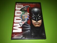 New listing Justice League Doom 2 Disc Set Brand New Factory Sealed