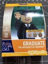 Oyo Sports Minifigure University of Memphis Tigers Graduate Alumni Lego Male TN
