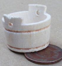 1:12 Échelle Petit Vide En Bois Baignoire Maison De Poupées Boutique Miniature