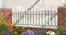 SOLID WROUGHT IRON METAL FENCING/RAILINGS PANEL 3ft H MADE TO MEASURE SAMPLE