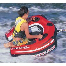 Boating Airhead RIP II Towable Water Tube 1 person Rider slalom, wake jumper