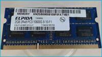 2GB DDR3 Arbeitsspeicher RAM Elpida PC3-10600S-9-10-F1 Akoya MD98780 E6222