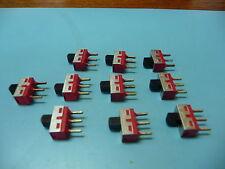 C n K  1101M2S3CQE2 Qty of 10 per Lot SWI SPDT SLIDE  Slide Switch