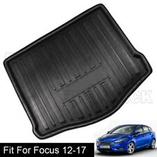 Rear Trunk Floor Mat Carpets Cargo Liner Boot Tray for Ford Focus 2012-2017