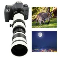 420-800mm Aperture F/8.3-16 Telescope Telephoto Zoom Lens for Canon EF Mount SP
