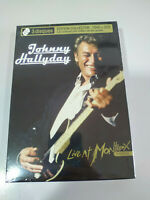 JOHNNY HALLYDAY LIVE AT MONTREUX 1988 EDICION DELUXE 2 CD + DVD Nuevo - AM