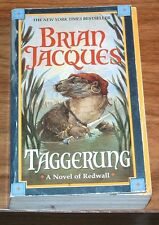 BRIAN JACQUES Taggerung NFINE 1st printing REDWALL #14 Troy Howell PETER STANLEY