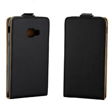 Black Leather Slot Card Wallet Phone Pouch Silicone Cover Case for iPhone Huawei for Samsung Galaxy Xcover 4 G390f