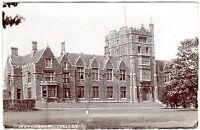 RARE R.P. POSTCARD THOMAS ROTHERHAM COLLEGE-BOYS GRAMMAR SCHOOL-ROTHERHAM 1904