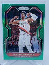 2020 - 2021 Panini Prizm NBA Hassan Whiteside Green Prizm Portland Trailblazers