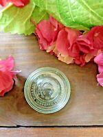 Antique Vintage Mason Jar Improved CFJ Midget Jar Lid Patent May 23, 1871