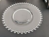 """Eight (8) Imperial CANDLEWICK 8"""" salad plates 1936-1982"""