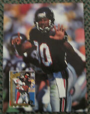 ANDRE RISON AUTOGRAPHED BECKETT FOOTBALL MAGAZINE FALCONS