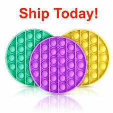 Fidget Toy Pop Its Sensory Push Bubble Stress Relief Kids Pop It Antistress Toy