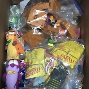 Vintage McDonald's Happy Meal Toys  Mixed Lot of Over 15lbs!!