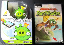 NEW Magic Angry Birds KING PIG Apptivity for iPad & BAD PIGGIES PC game Combo